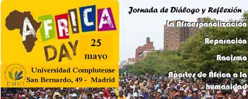 Imagen-Madrid: Dia de Africa 25 mayo - African Liberation Day 2013,  jornada de dialogo y reflexion