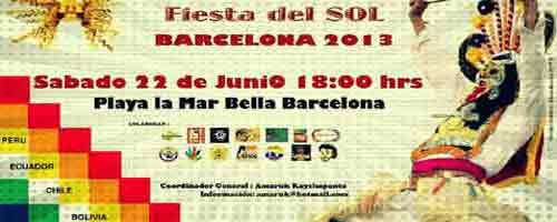 Imagen-Inti Raymi: Espana - Barcelona 2013