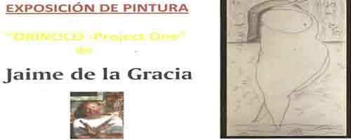 Imagen-Jaime de la Gracia expone su obra pictorica en la Biblioteca Central de Mostoles