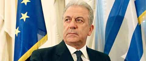 Imagen-Europa crea el puesto de comisario de Inmigracion y nombra al ministro griego de Defensa