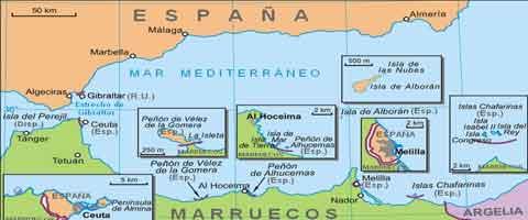 Imagen-Fuerzas marroquíes tienen permiso para detener migrantes en la isla española de Perejil para mantenerla deshabitada