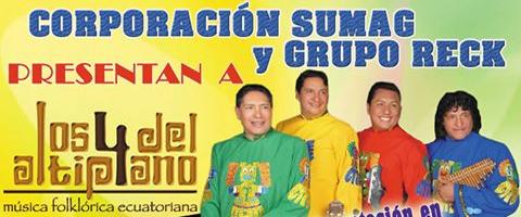 Imagen-Los 4 del Altiplano en Madrid este 6 de Septiembre del 2014