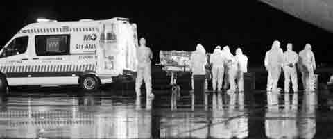 """Imagen-""""El ebola es una estafa a escala mundial"""""""