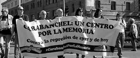 Imagen-Espana: Represion de ayer y de hoy en la carcel de Carabanchel, de los presos politicos a los inmigrantes