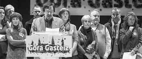 Imagen-Espana: Nace la iniciativa ciudadana Gora Gasteiz